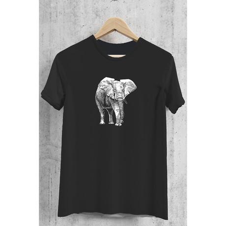 Elephant Tee // Black