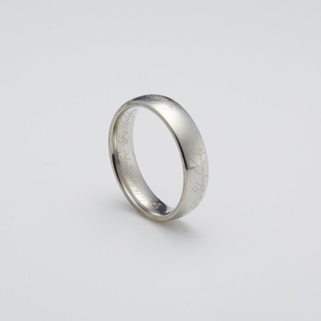 LOTR Ring // Silver (Size 7)