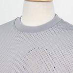 Fear Of God // Fifth Collection Mesh Oversized Tee // Gray (XS)