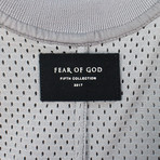 Fear Of God // Fifth Collection Mesh Oversized Tee // Gray (L)
