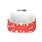 Smart Digital Feeding Bowl (Red + White)