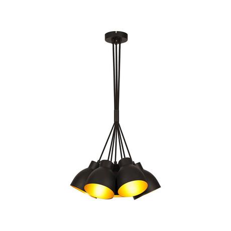 Multiple Black Pendant Modern Lamp