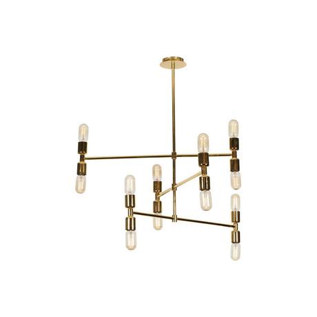 Modern Gold Hanging Lamp
