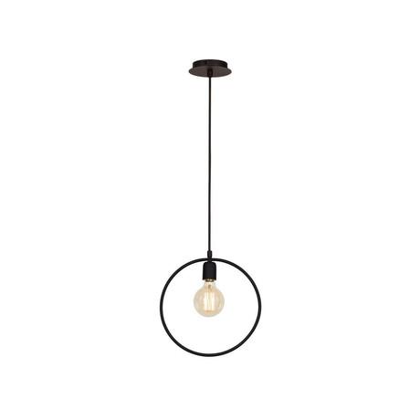 Wire Metal Circle Lamp