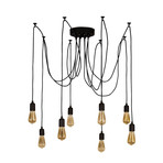 Willow Metal Black Hanging Lamp