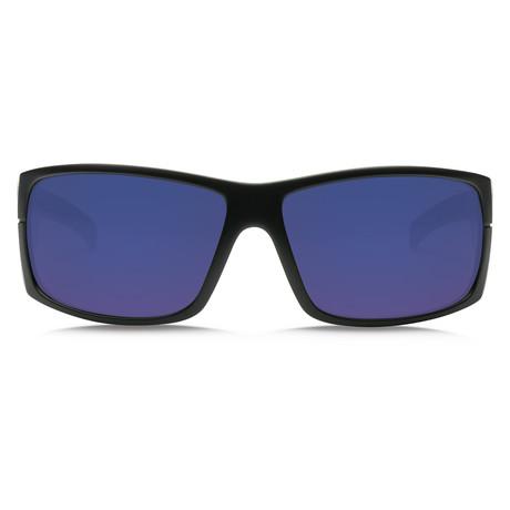 Mudslinger // Matte Black + OHM Blue Polarized