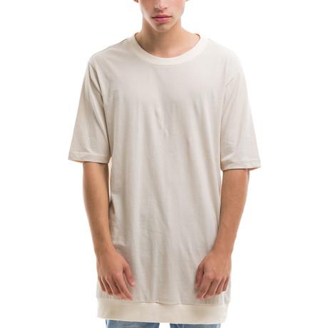 Short Sleeve T-Shirt // Beige