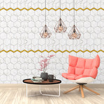 Marble Effect Tile // Wall Sticker