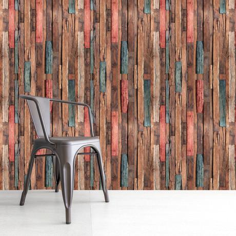 Timber Strip // Wall Sticker