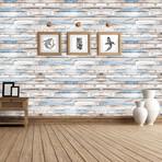 Brown Timber Strip // Wall Sticker
