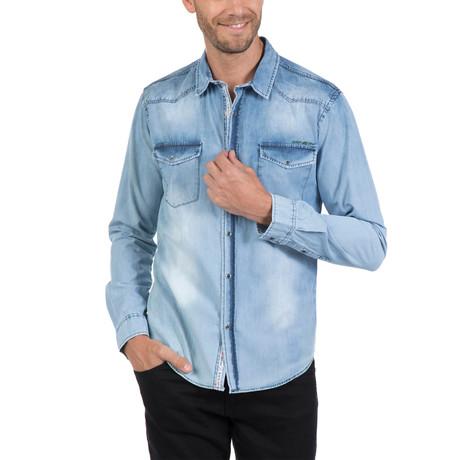 Pata Button-Up // Light Blue