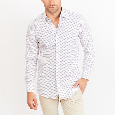 Button-Up Shirt // BL14 // White
