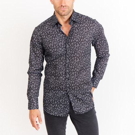 Button-Up Shirt // Black (S)