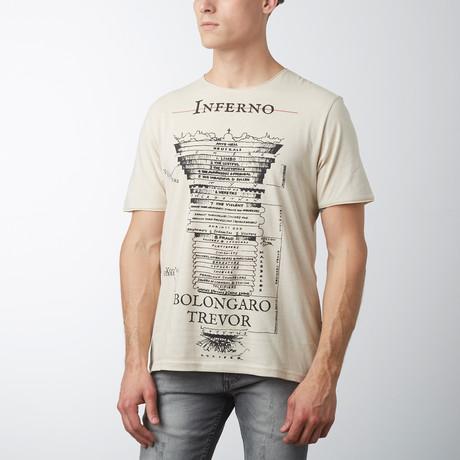 Inferno T-Shirt // Beige