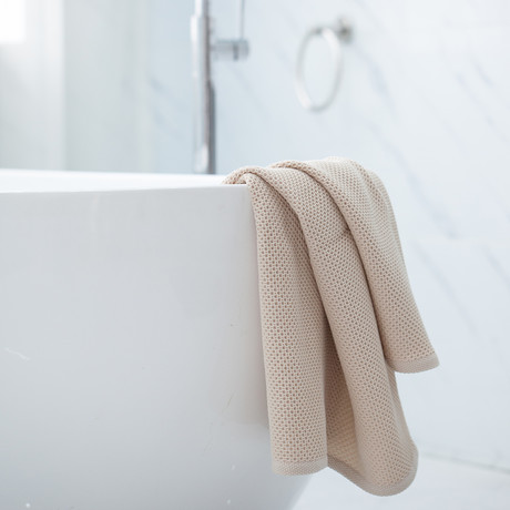 Bath Sheet // Set of 2 (Creamy White)