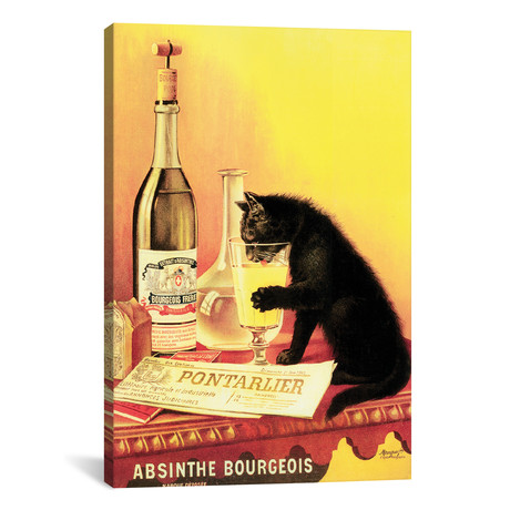 "Absinthe Bourgeois // Vintage Apple Collection (12""W x 18""H x 0.75""D)"