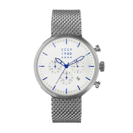 CCCP Kashalot Dress Chronograph Quartz // CP-7007-11