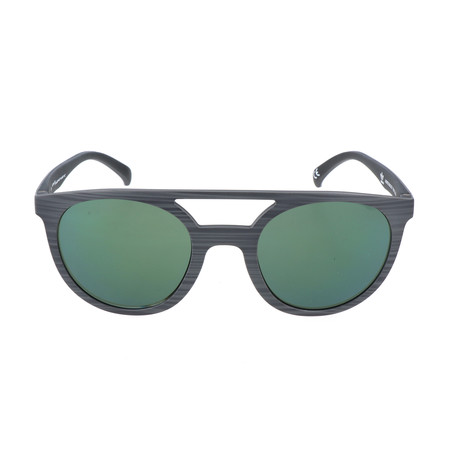 Unisex Justus Sunglasses // Gray Brush Effect