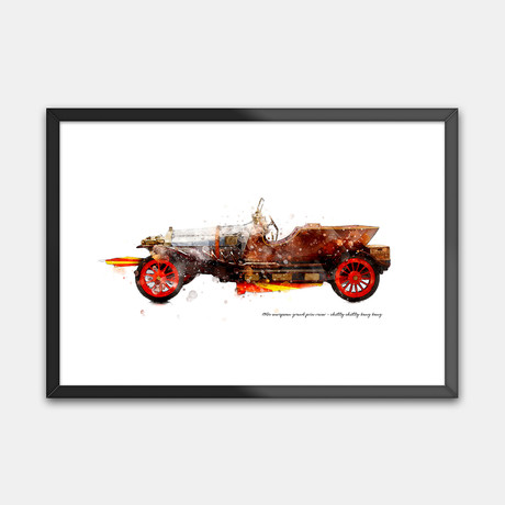 1910s European Grand Prix Racer // Chitty Chitty Bang Bang