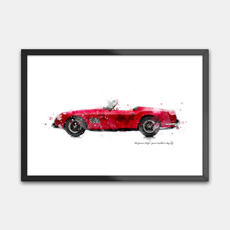1961 Ferrari 250GT // Ferris Bueller's Day Off