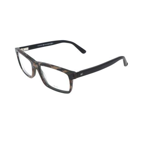 Men's 1328-N7V Optical Frames // Camo + Black
