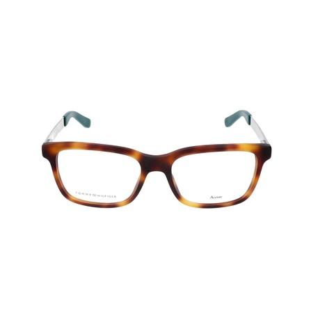 Men's 1323-0I1 Optical Frames // Havana + Gold + Green