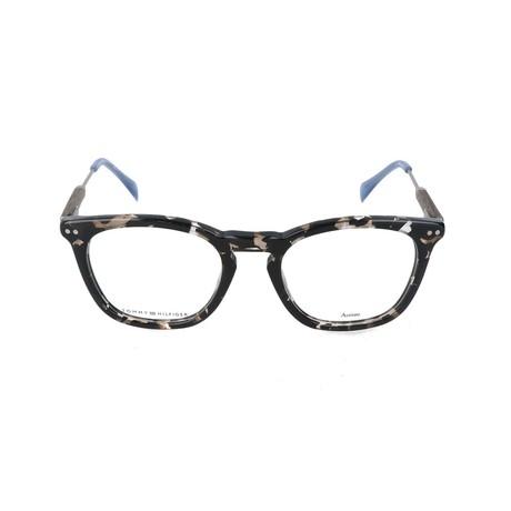 Men's 1365-JW2 Optical Frames // Havana + Wood + Blue
