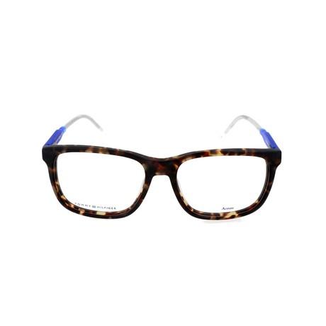 Men's 1392-QRD Optical Frames V1 // Havana + Blue (52mm)