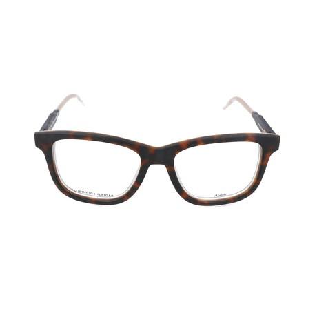 Men's 1353-K03 Optical Frames // Havana + Ivory + Blue
