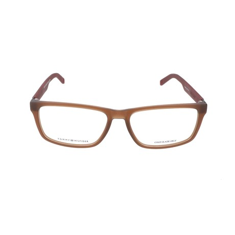 Eugene Frame // Matte Brown Burgundy