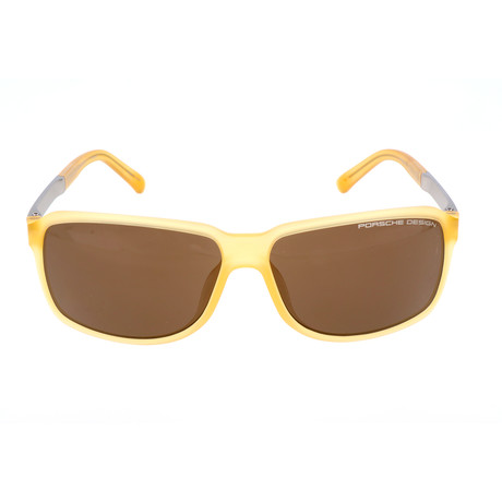 Men's P8555 Sunglasses // Yellow