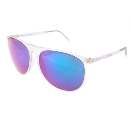 Unisex P8596 Sunglasses // White