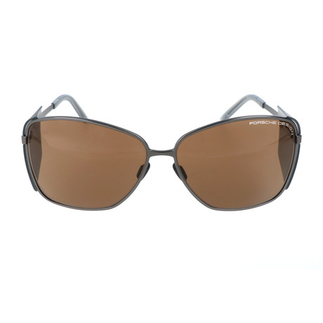 Women's P8599 Sunglasses // Dark Gunmetal