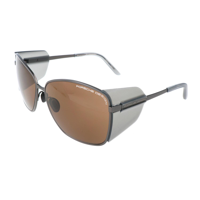 Porsche Design Women S P8599 Sunglasses Dark