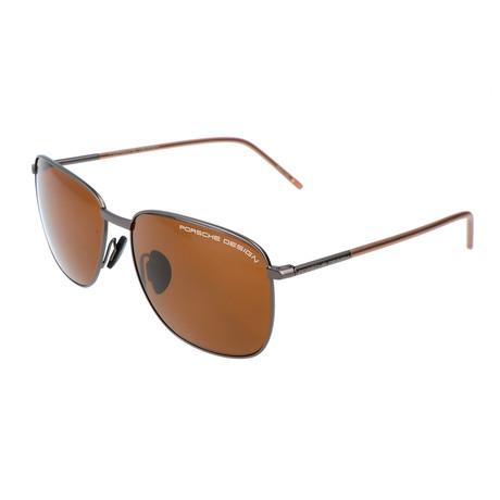 Porsche Design // Unisex Siegen Sunglasses // Gunmetal