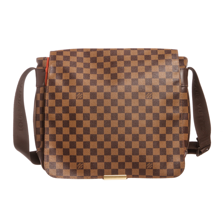 37064f1bce3d Louis Vuitton    Damier Ebene Bastille Messenger Bag    SP0054 ...