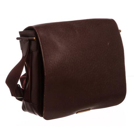 Louis Vuitton // Taiga Leather Viktor Messenger Bag // SP1908