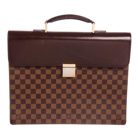 Louis Vuitton // Damier Ebene Altona PM Briefcase