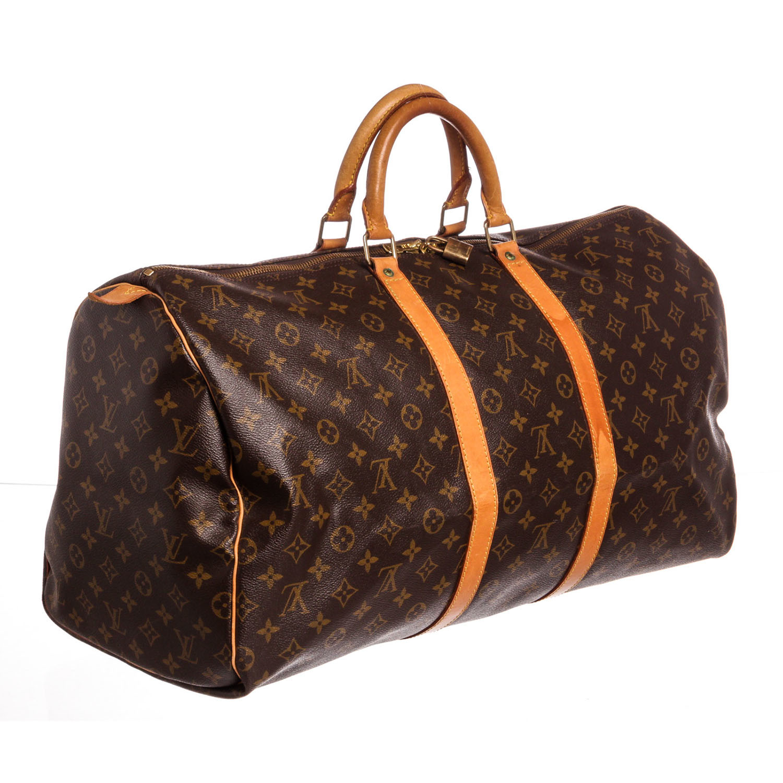 0b6e4cb4ca4a Louis Vuitton    Monogram Keepall 55 Duffle Bag    SP0935 - Vintage ...