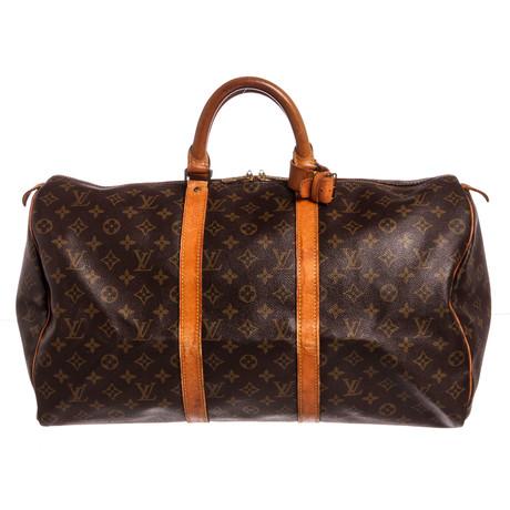 Louis Vuitton // Monogram Keepall 50 Duffle Bag // FH0950