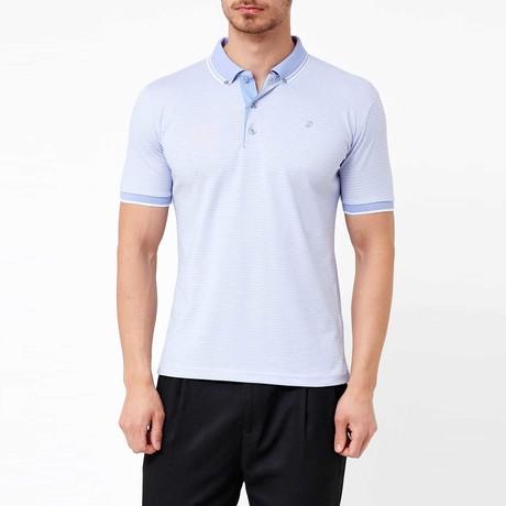 Gilmore Polo T-Shirt // Light Blue