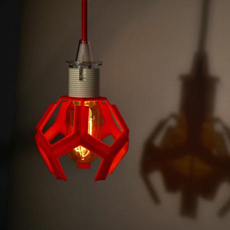 Penta Lamp // Red