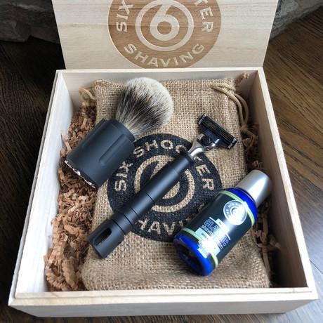 Shaving Gift Set // Revolver & Rifle Razor