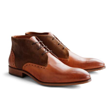 Cedar St. Leather Suede // Cognac