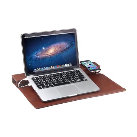 Laptop Lift Mat + Cord Concealer