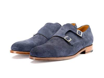 Photo of David Neumen Sophisticated Dress Shoes Hugo // Blue Suede (US: 8) by Touch Of Modern