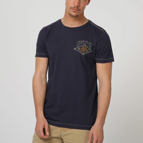 Tery T-Shirt // Dark Blue