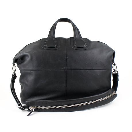 Large Nightingale Tote Carry On Bag // Black