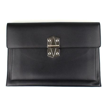 Diplomatica Briefcase Bag // Black
