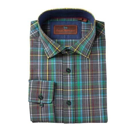 Carson Woven Sport Shirt // Green